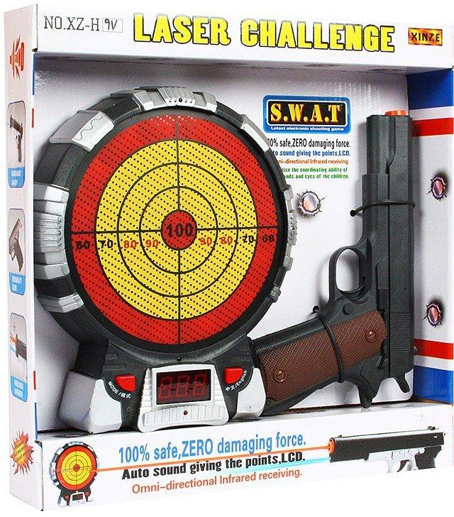 Игровой набор Tongde Лазерный пистолет и мишень