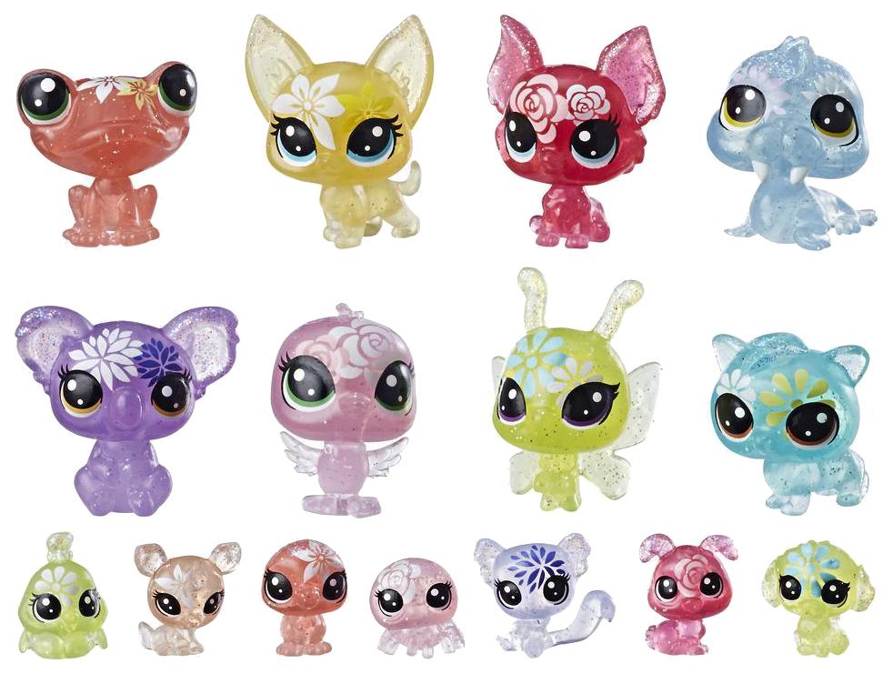 Купить Hasbro Littlest Pet Shop E5148 Литлс Пет Шоп Игровой набор Букетный набор петов, Игровые фигурки