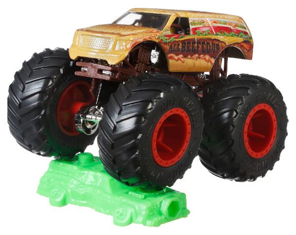 Купить Mattel Hot Wheels FYJ44 Хот Вилс Базовый Монстр трак 1:64, Наборы игрушечного транспорта