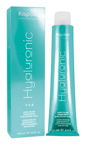 Краска для волос Kapous Hyaluronic Acid 5.1 cветлый коричневый пепельный 100 мл