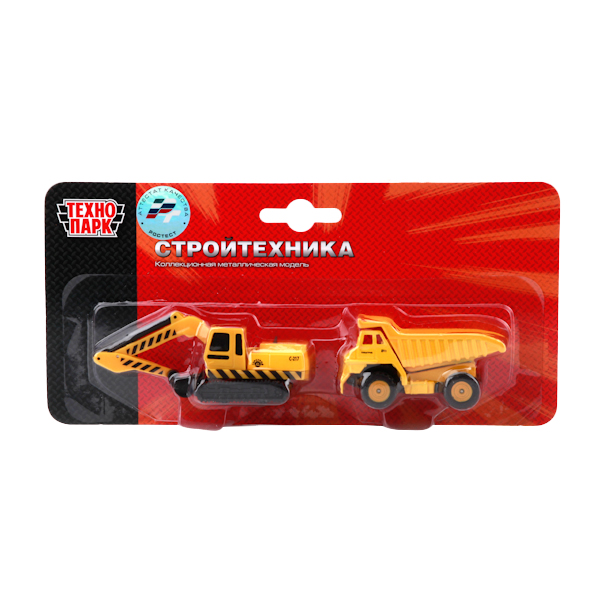 Купить Строительная техника, Игровой набор Технопарк sb-15-19-blc, Наборы игрушечного транспорта