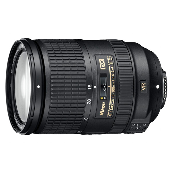 Объектив Nikon AF-S DX Nikkor 18-300mm f/3.5-6.3G