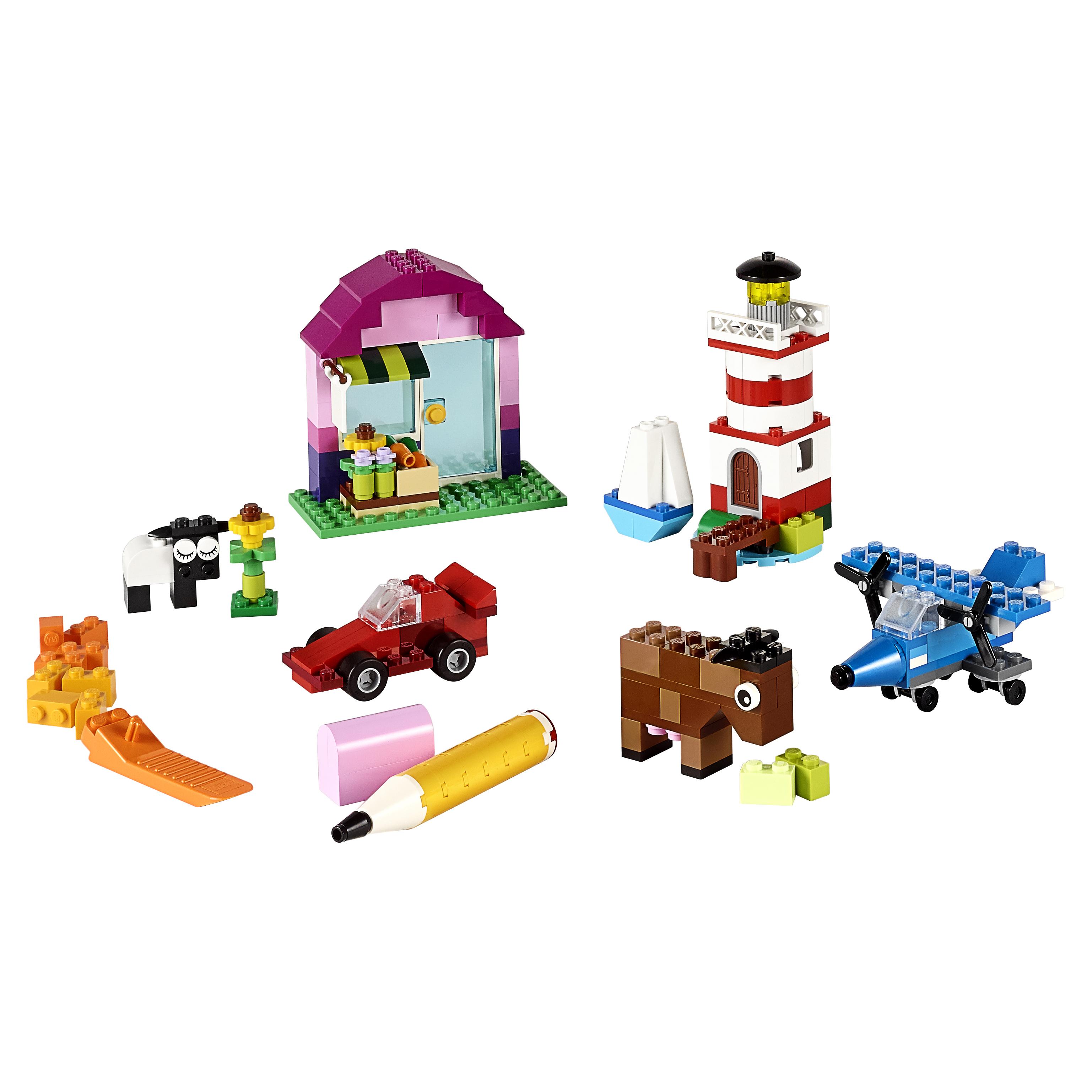 Купить Конструктор lego classic набор для творчества 10692, Конструктор LEGO Classic Набор для творчества (10692), LEGO для девочек