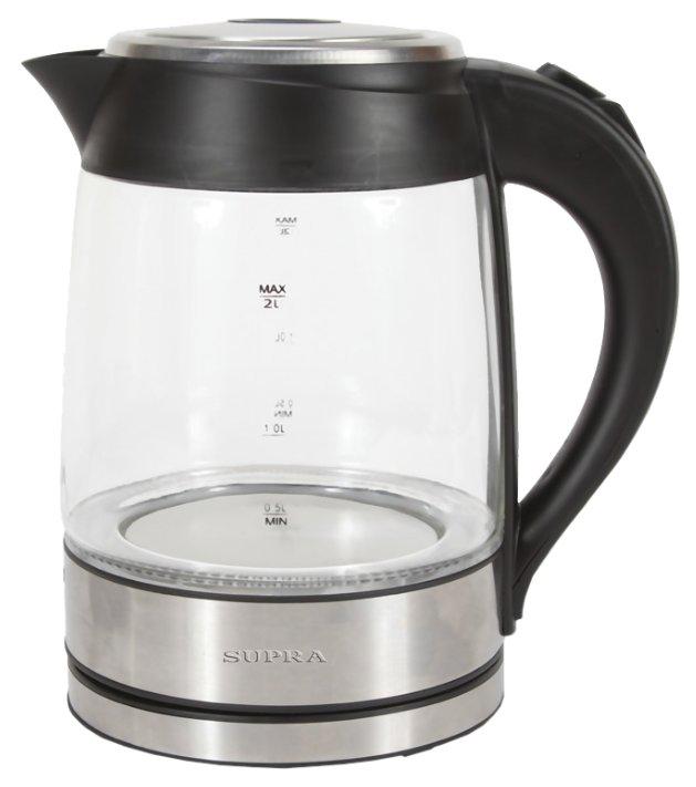 Чайник электрический Supra KES 2005 Black/Silver