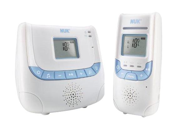 Радионяня Nuk Eco Control+ с дисплеем