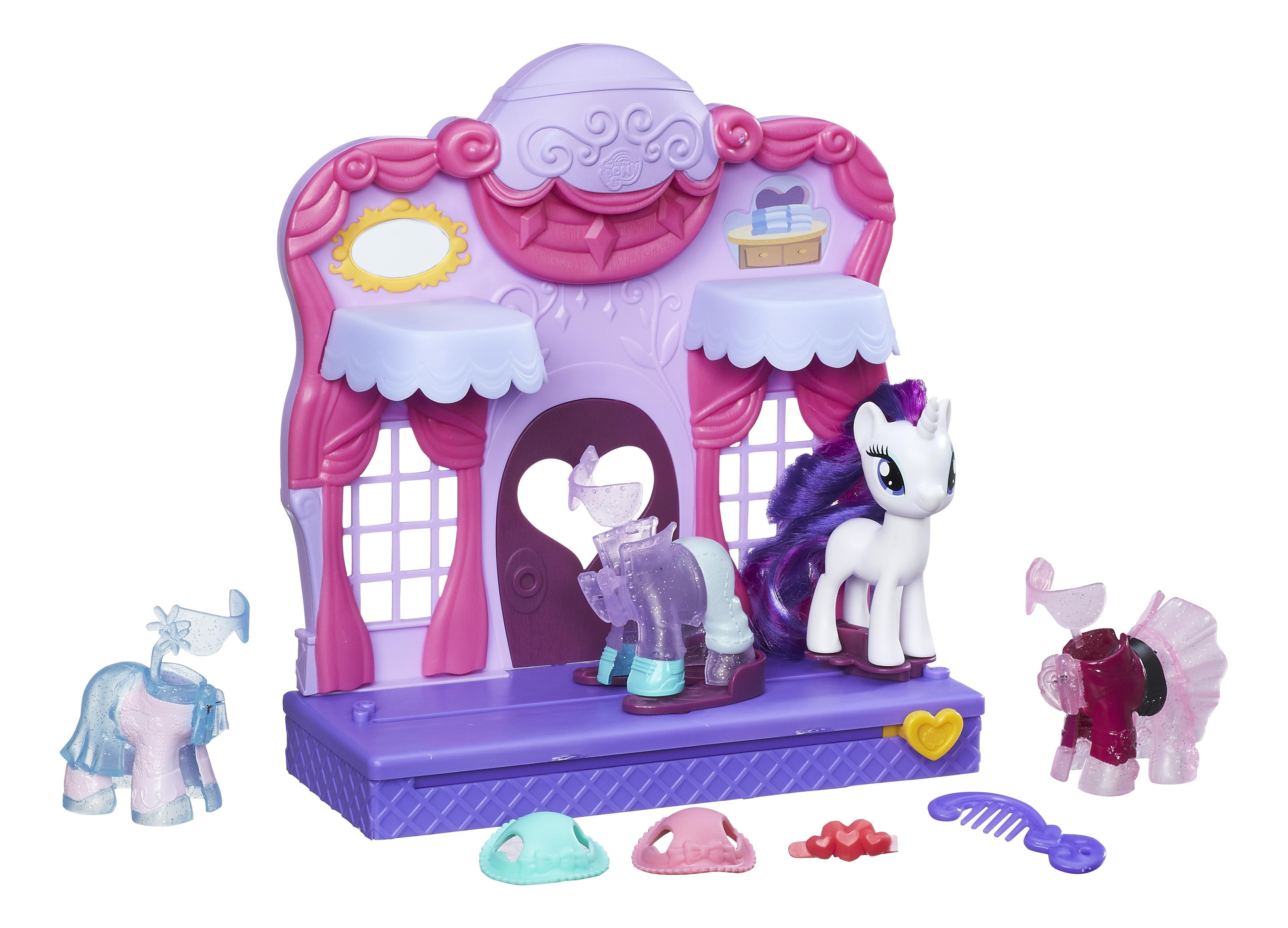 Купить Mlp бутик рарити в кантерлоте b8811, My little Pony, Игровые наборы