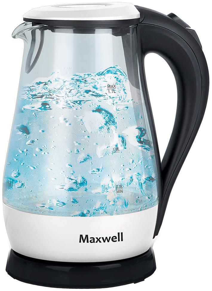 Чайник электрический Maxwell MW 1070 White/Black