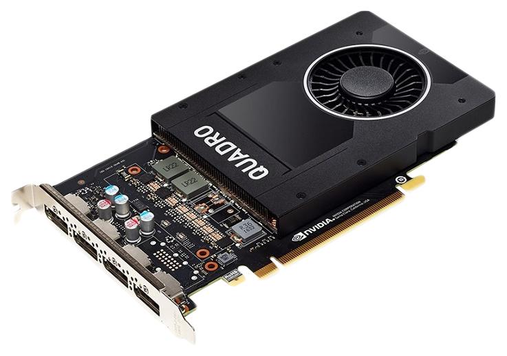 Видеокарта PNY nVidia Quadro P2000 (VCQP2000 PB)