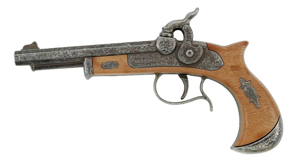 Купить Пистолет игрушечный Schrodel Derringer (5011681F), Игрушечные пистолеты