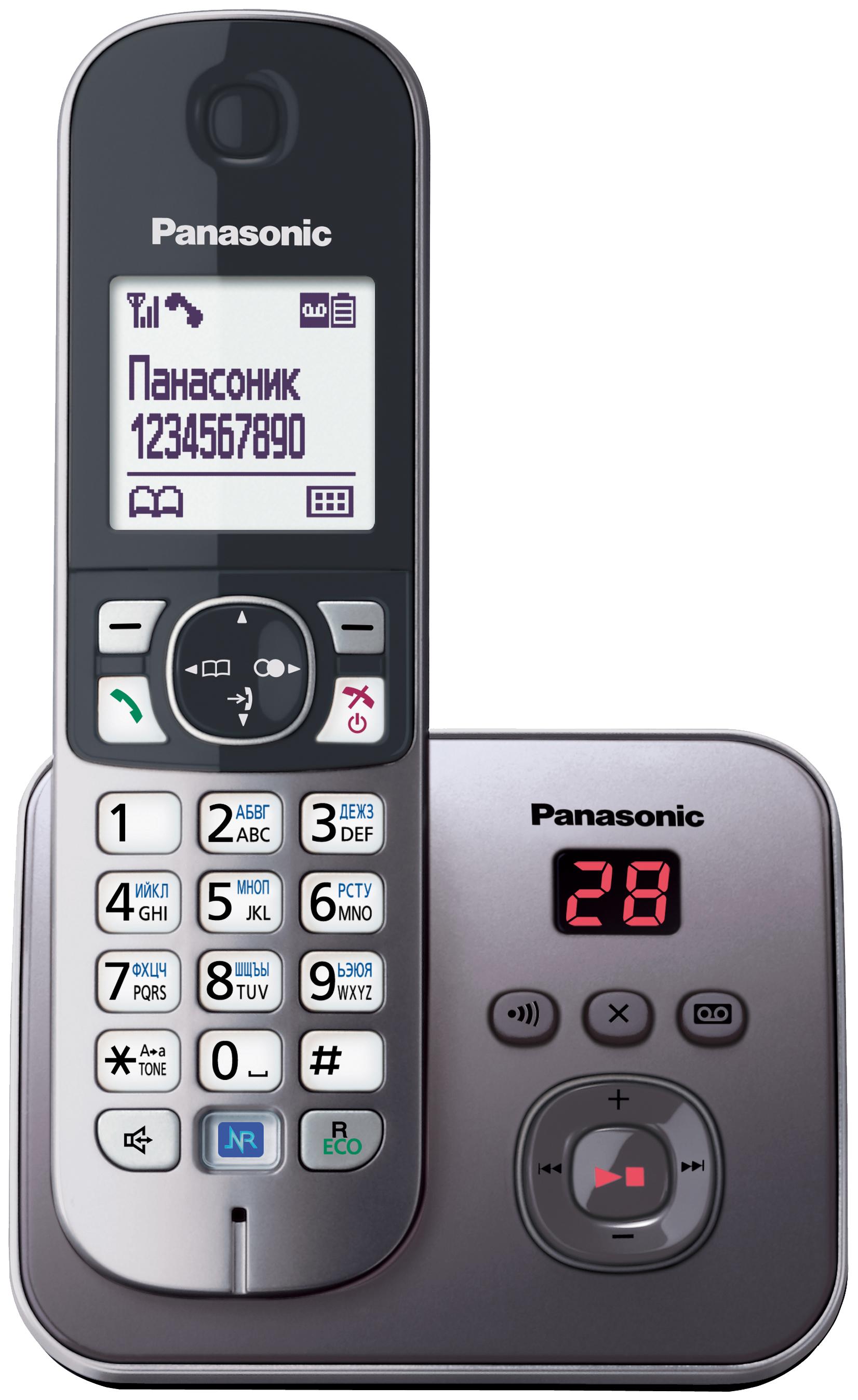 Телефон DECT KX TG6821RUM серый