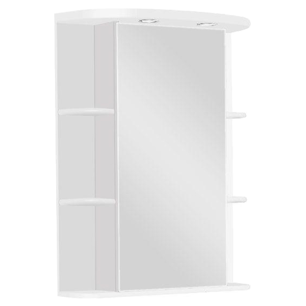 Шкаф зеркало для ванной Акватон Кристалл 65R,