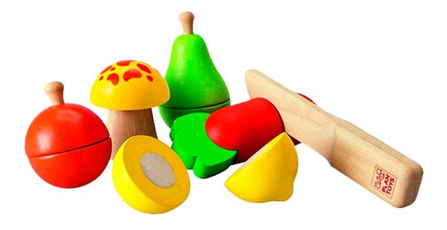 Набор Plan Toys Фрукты и овощи фото