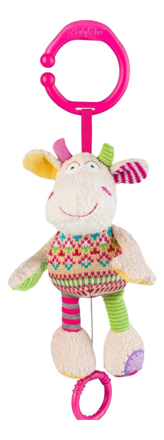 Купить Музыкальная коровка, Подвесная игрушка Babyono Музыкальная коровка , Подвесные игрушки