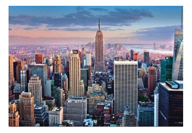 Купить Манхеттен Нью-Йорк 1000 деталей, Пазл Educa Манхеттен Нью-Йорк 1000 деталей, Пазлы