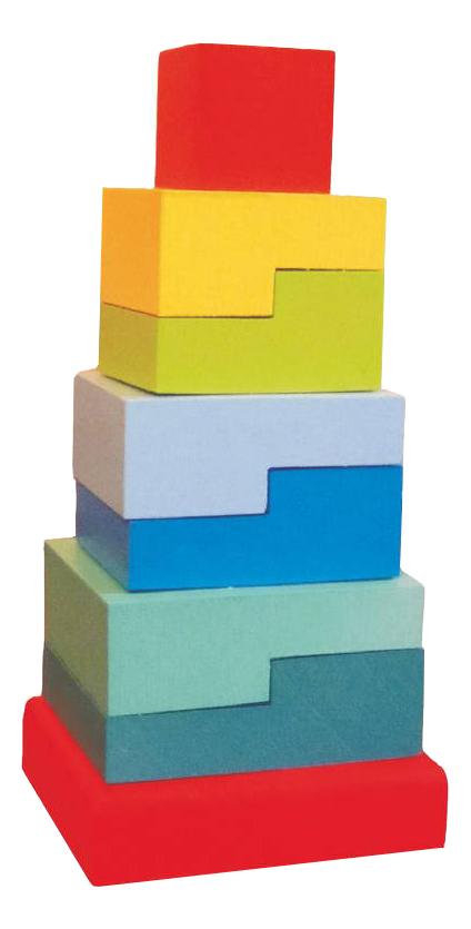 Купить Пирамидка Alatoys Ступеньки ПСТ02, Алатойс, Пирамидки для детей