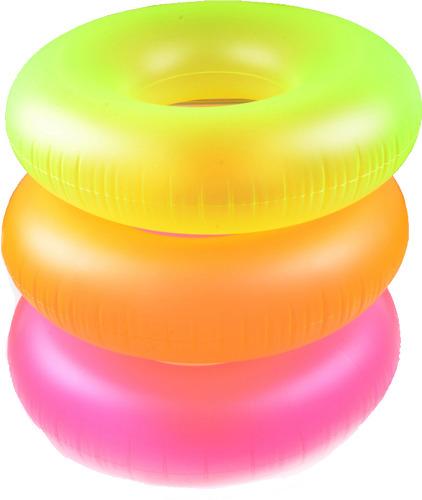 Надувной круг Intex Неон, 91 см, цвет