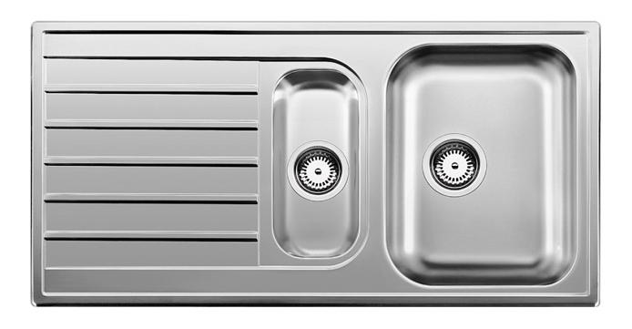 Мойка для кухни из нержавеющей стали Blanco lIVIT 6 S 514797 серебристый