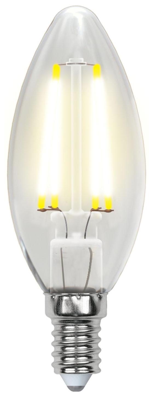 UNIEL LED-C35-6W/WW/E14/CL PLS02WH