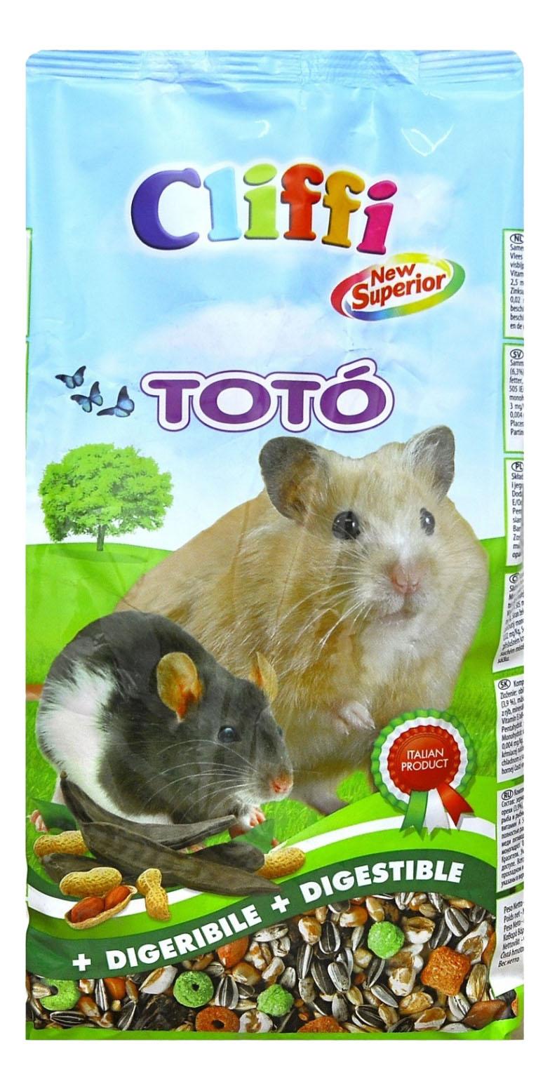 Корм для хомяков Cliffi Toto 0.9 кг