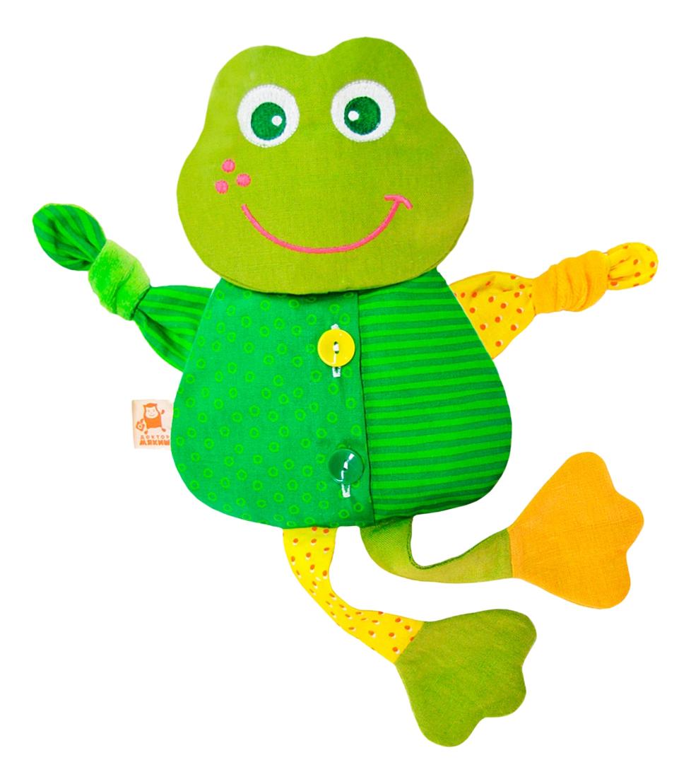 Мягкая игрушка Мякиши Доктор Лягушка