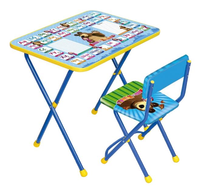 Комплект детской мебели Ника Маша и Медведь.