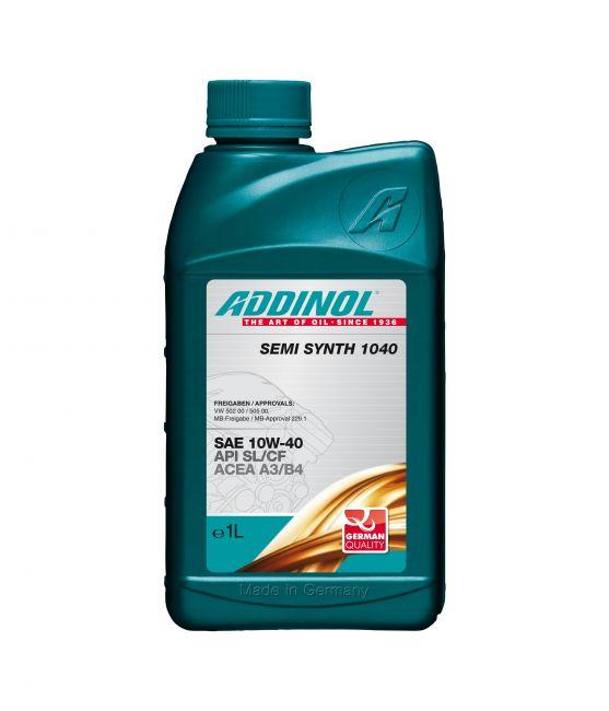 Моторное масло Addinol Semi Synth 1040 10W-40 1л фото