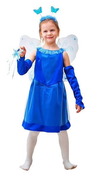 Карнавальный костюм Бока Сказочная фея в синем