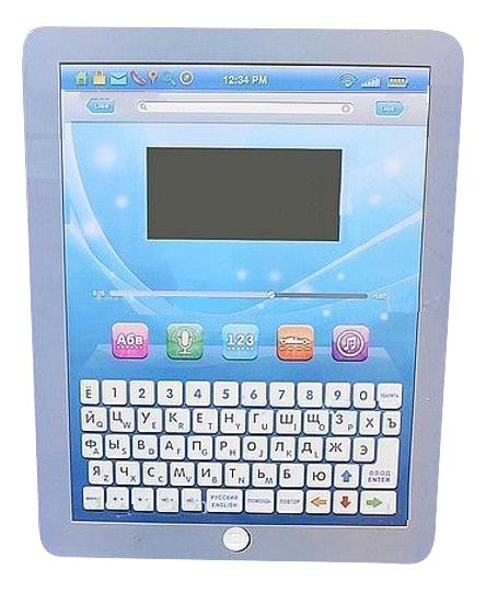 Обучающий русско-английский планшет Play Smart 35 функций голубой фото