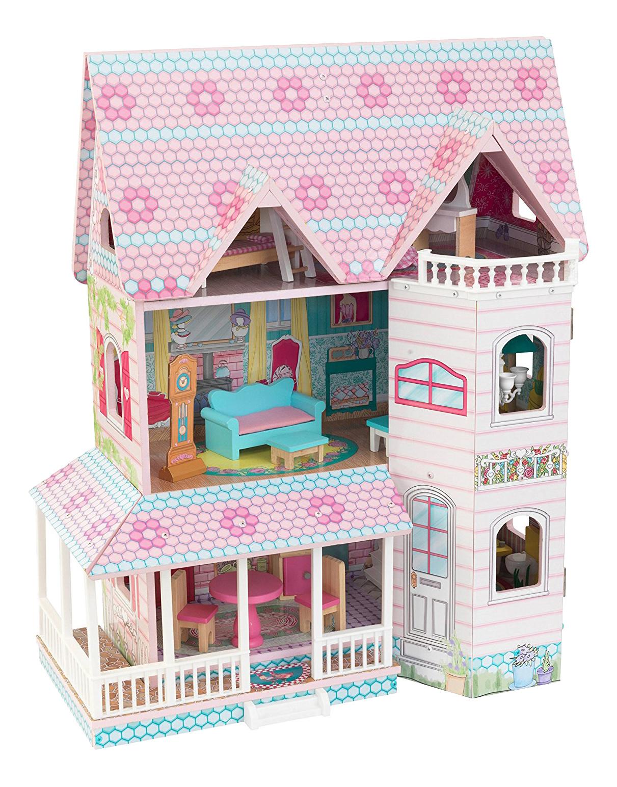 Домики для барби 30 см, Домики для Barbie 30 см KidKraft 65941_KE, Кукольные домики  - купить со скидкой