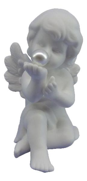 Статуэтка Snowmen Ангел с жемчужиной фото