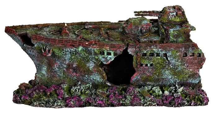 Грот для аквариума TRIXIE корабль 28см