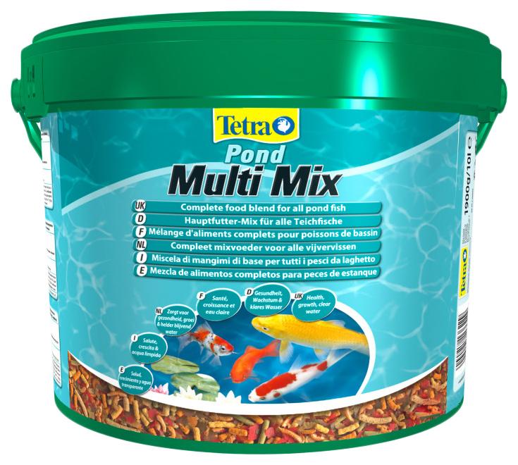 Корм для прудовых рыб Tetra Pond MultiMix, гранулы,