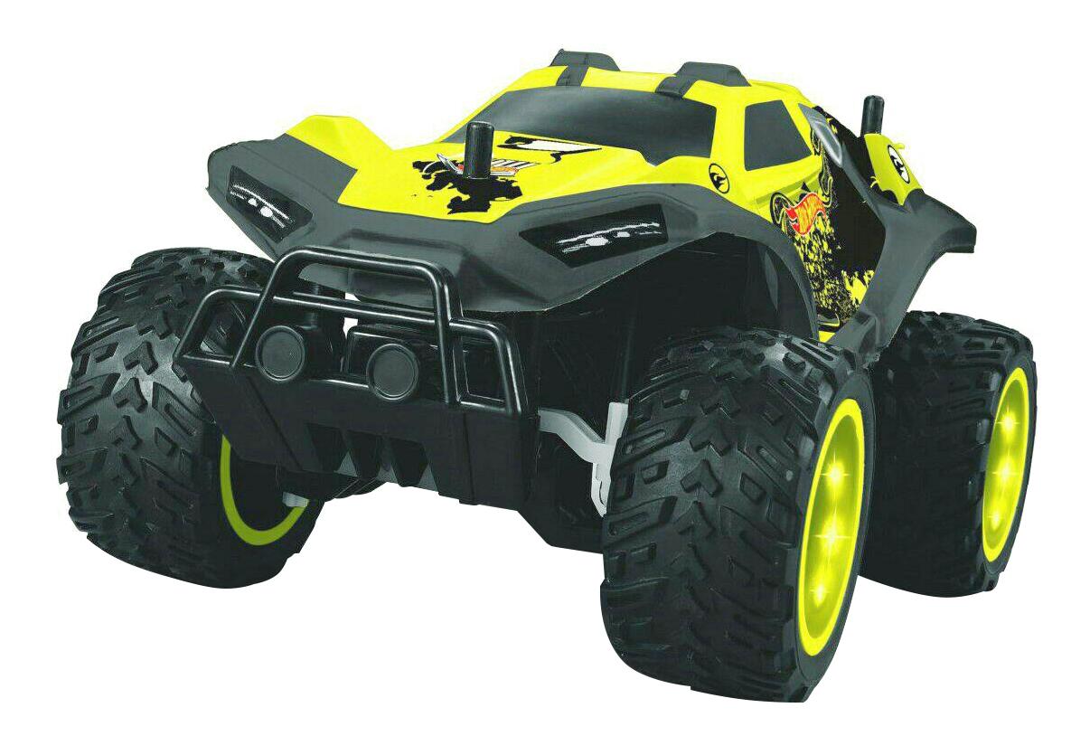 Купить Радиоуправляемая машинка 1TOY Hot Wheels багги Бигвил жёлтая, 1 TOY, Радиоуправляемые машинки