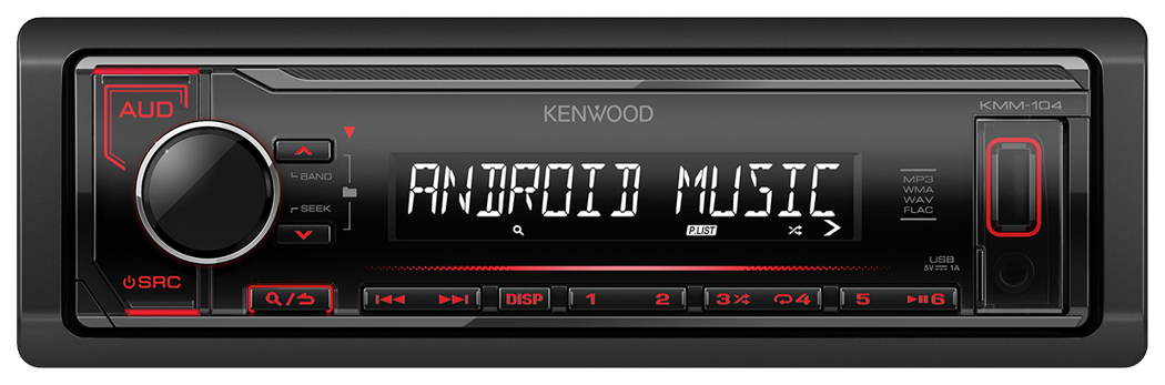 KENWOOD KMM-104RY