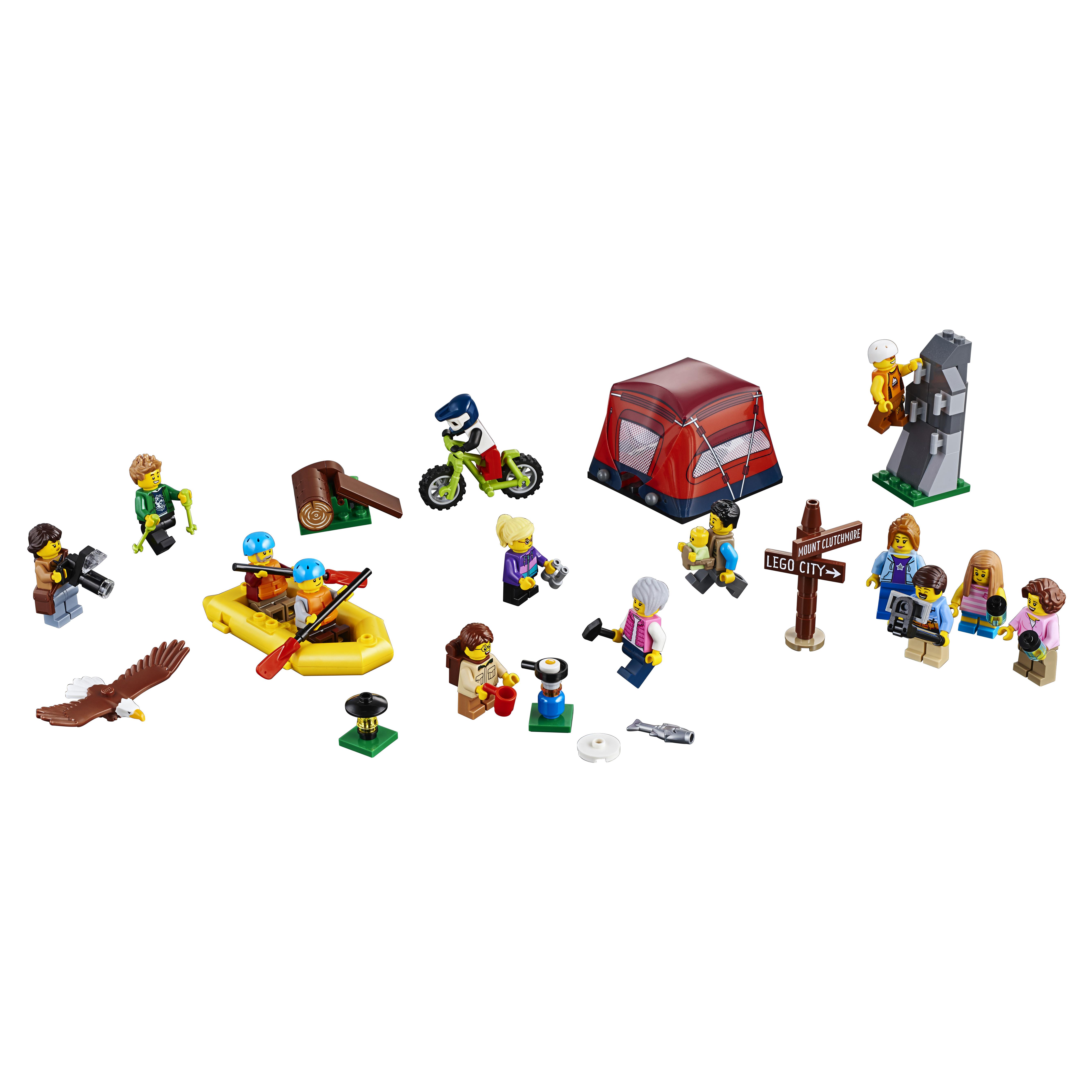 Конструктор LEGO City Town Любители активного отдыха 60202 LEGO фото
