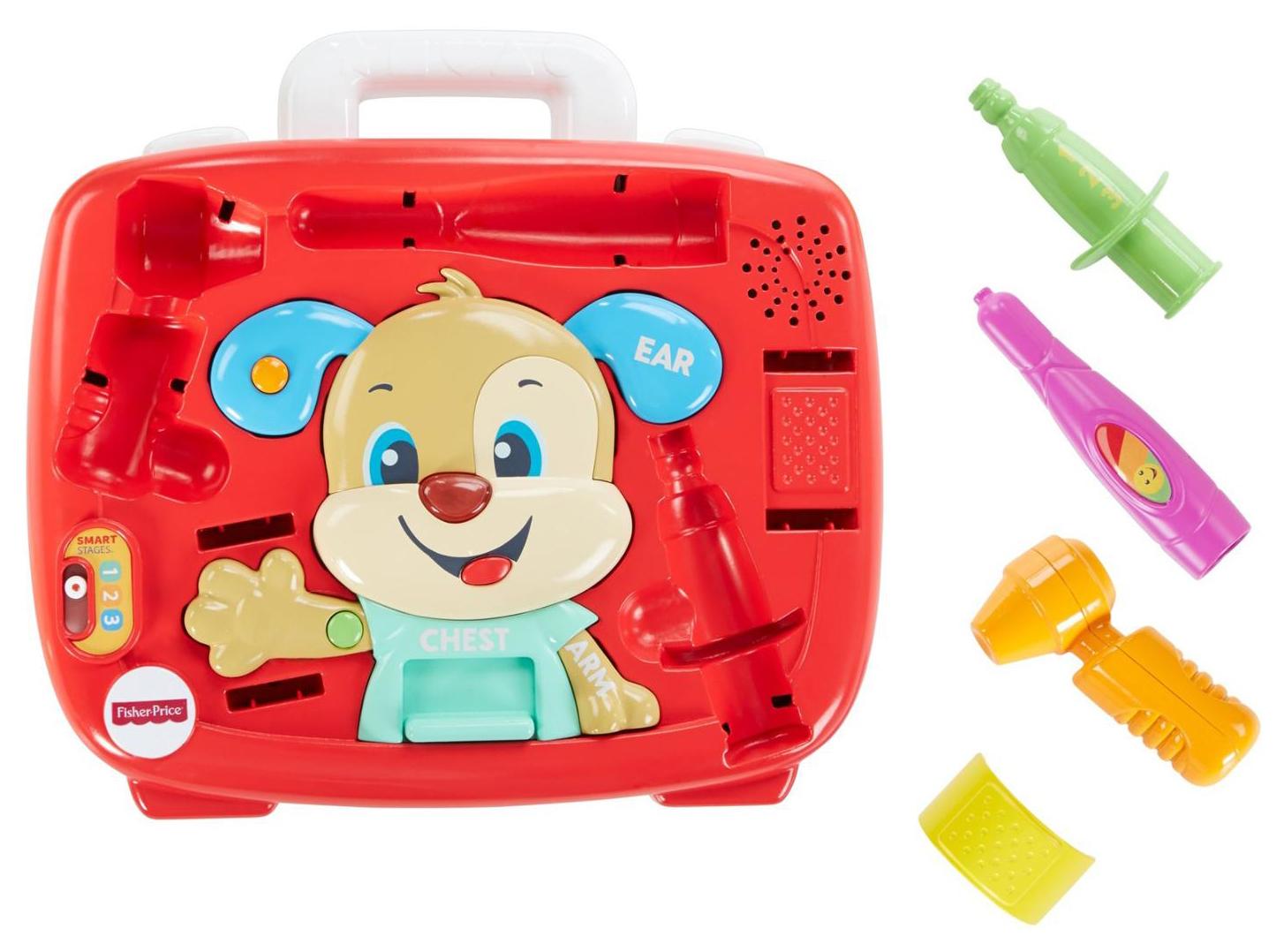 Развивающая игрушка Fisher-Price Медицинский набор Ученого Щенка