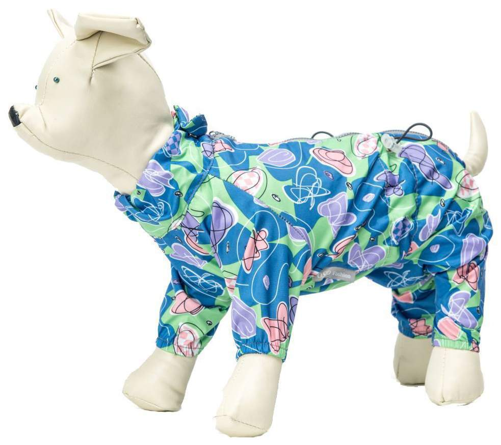 Комбинезон для собак OSSO Fashion весна/осень, женский, в ассортименте, длина спины 35 см