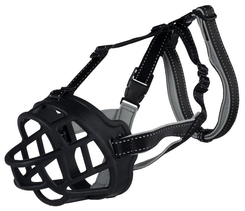 Намордник для собак Trixie Bridle Leather XL, черный