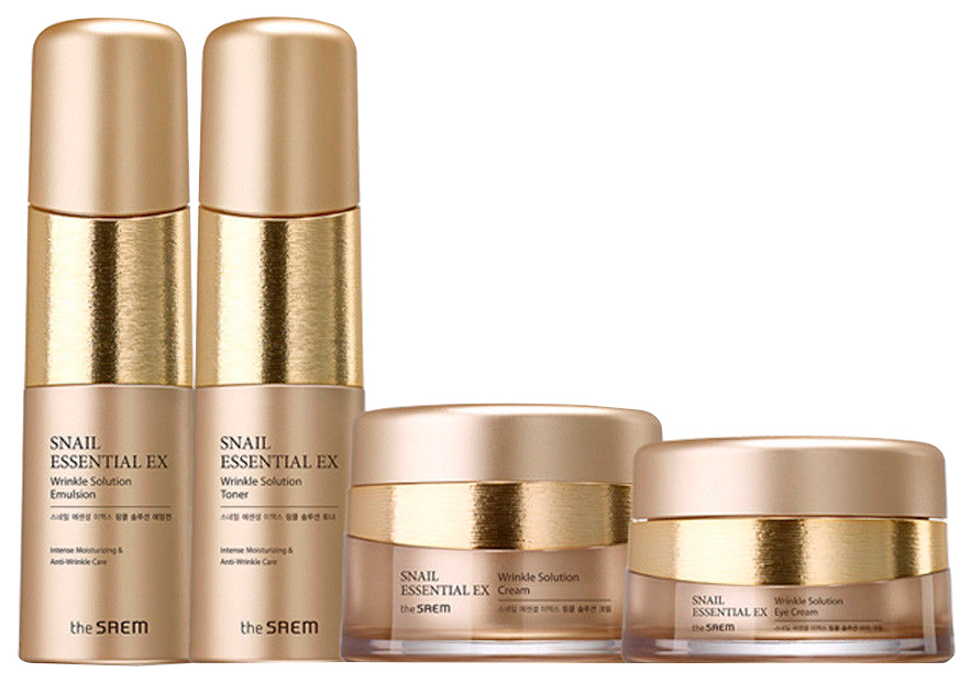Купить Набор для ухода за лицом The Saem Snail Essential EX Wrinkle Solution Skin Care 3 Set