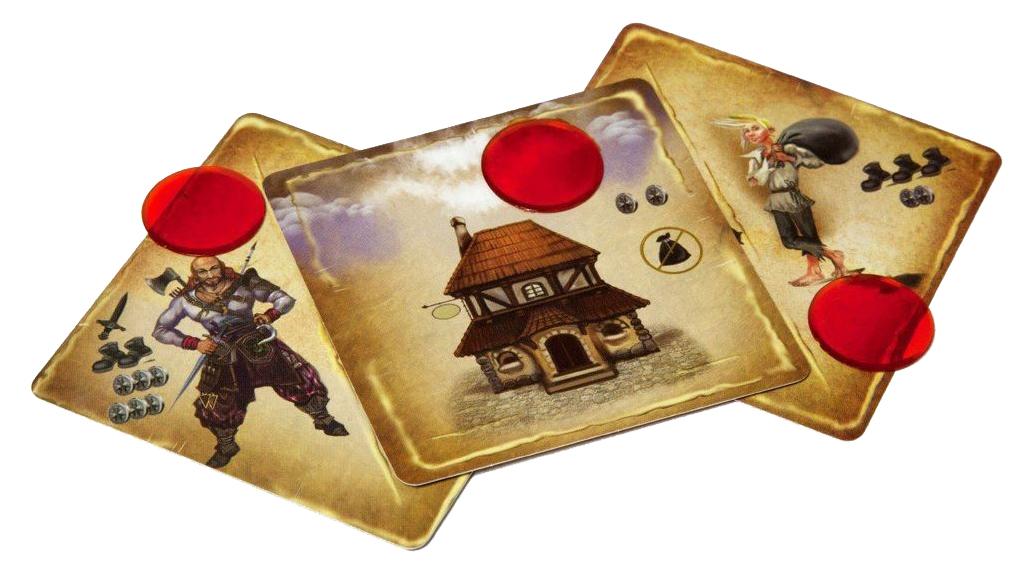 Купить Настольная игра Pandora's Box Межлунье-город гильдий ,