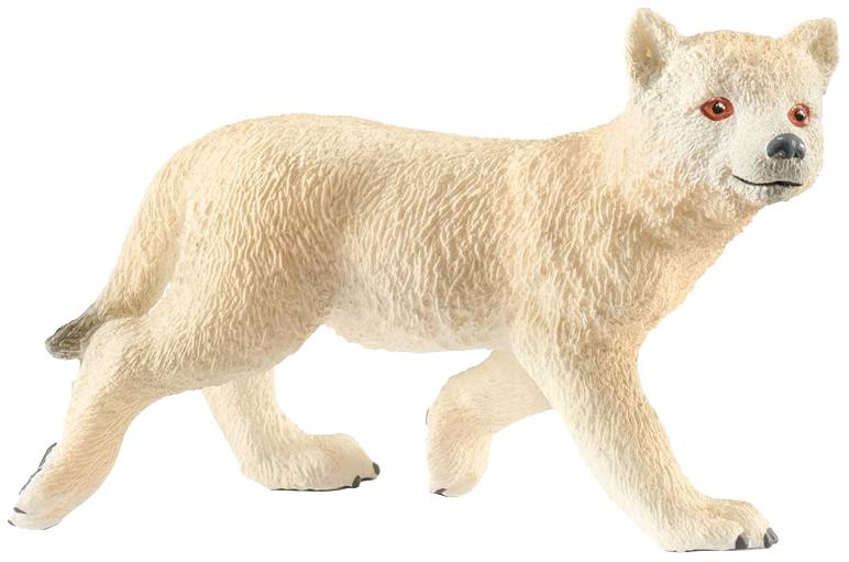 Купить Фигурка животного Schleich Детеныш арктического волка 14804, Игровые фигурки