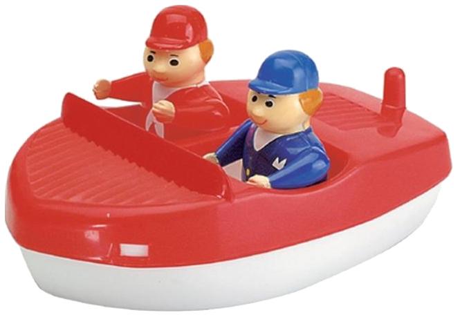 Купить AQUAPLAY Игровой набор игрушки для воды Акваплей Моторная лодка с фигурками 220 в упаковке, Игрушки для купания малыша