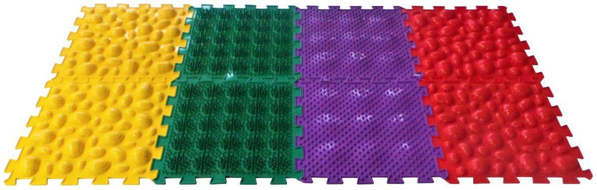 Купить Развивающий коврик Ортоковрик-пазл Микс Саванна, Развивающие коврики и центры