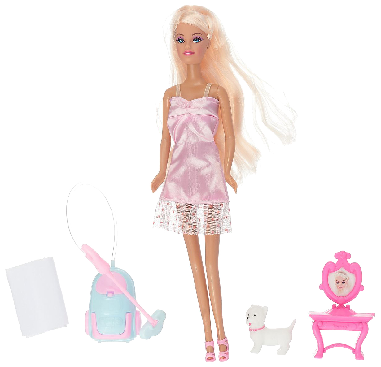 Купить Кукла Toys Lab игровой набор с куклой Cleaning Up Ася 35081, в асс., Классические куклы