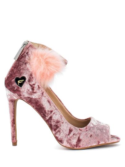 Туфли женские Fornarina розовые