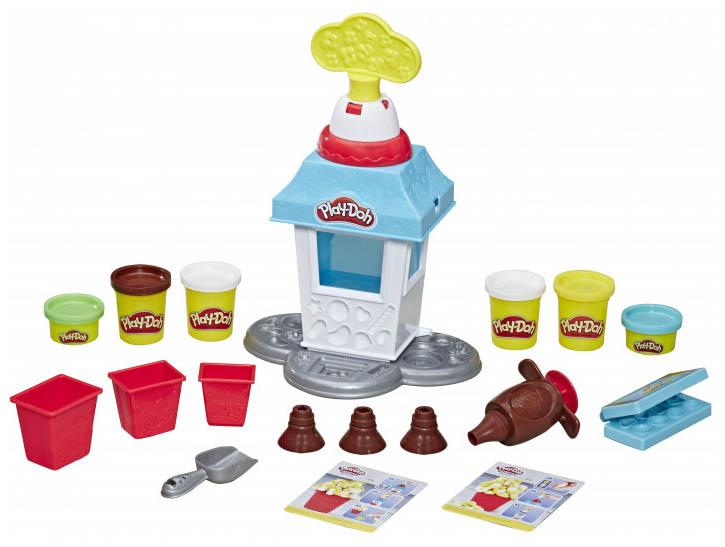 Купить Набор для лепки Play-Doh - Попкорн-Вечеринка Hasbro, Наборы для лепки Play-Doh