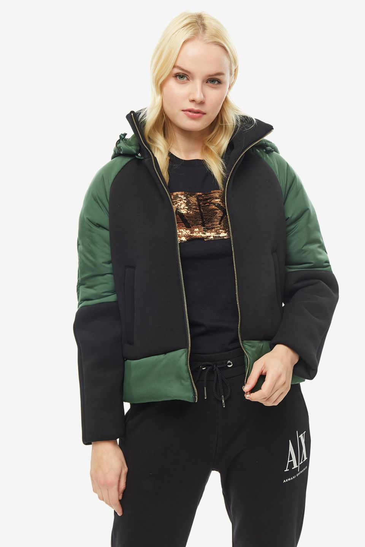 Куртка женская Armani Exchange 6GYB26 YNNBZ 2886 черная M фото