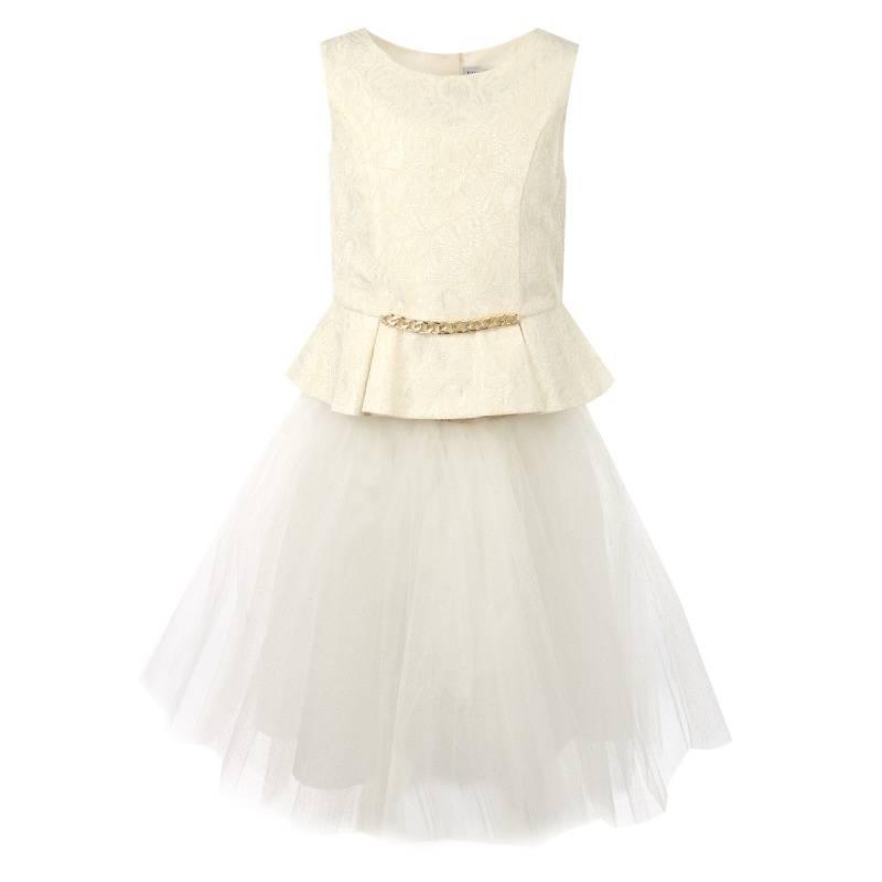 Купить Комплект 2 предмета UNONA D'ART, цв. белый, 116 р-р, Детские костюмы