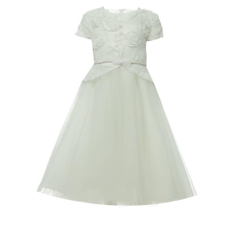 Купить Платье Choupette, цв. бежевый, 128 р-р, Детские платья и сарафаны