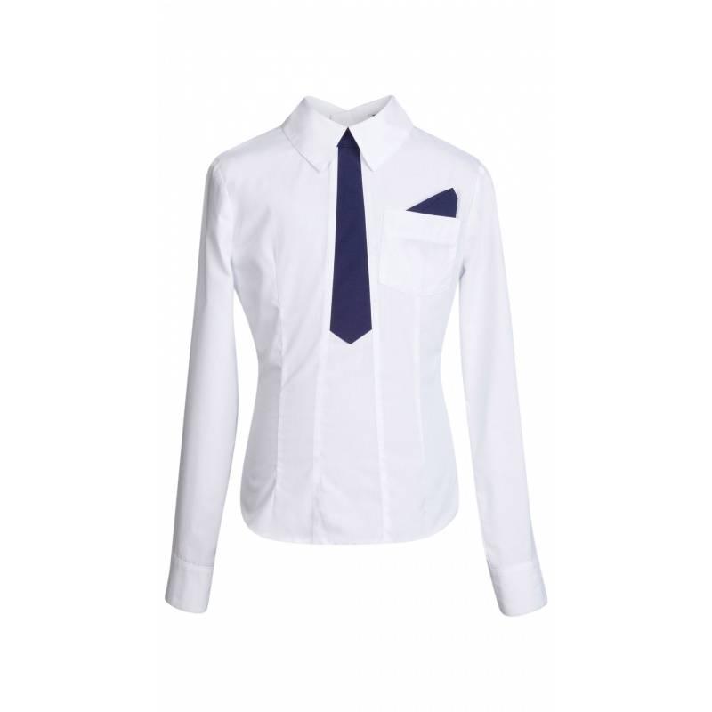 Купить ШФ-1111, Блузка SkyLake, цв. белый, 36 р-р, Блузки для девочек